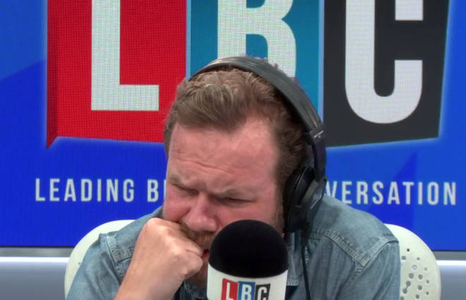 James O'Brien was visibly moved during the call