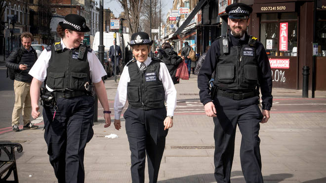 Metropolitan Police Commissioner Cressida Dick in London after a recent spate of gang violence.