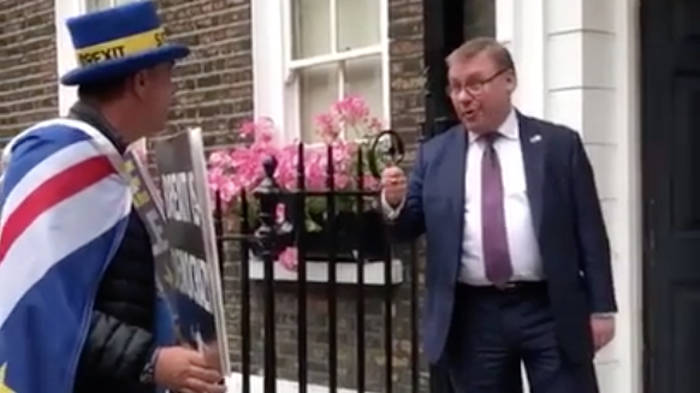 "Tory MP Tells Anti-Brexit Activist ""We're Signing Your Death Warrant"""