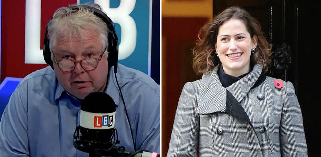 Nick Ferrari challenges Victoria Atkins MP over police numbers