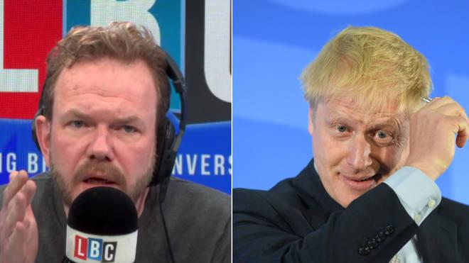 James O'Brien's caller had a tough time answering one question about Boris Johnson