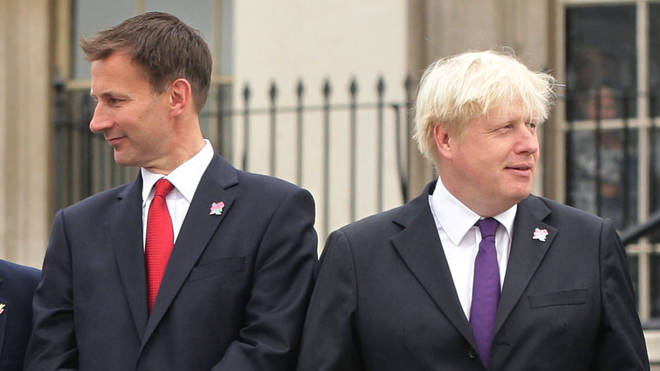 Boris Johnson and Jeremy Hunt will face off in the race to be PM