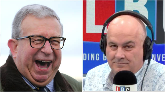 The Tory MP was speaking to LBC's Iain Dale