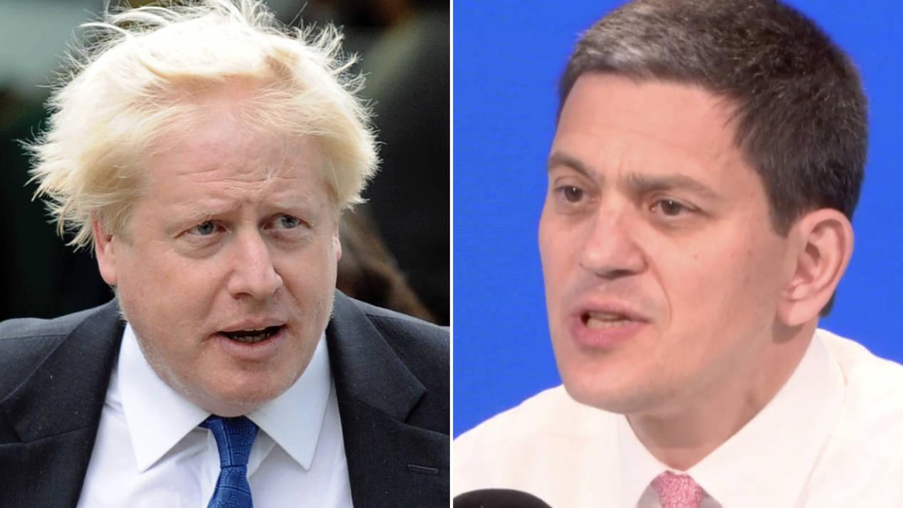 David Miliband: Boris Johnson Critics Should Focus On Policy Not Contradictions