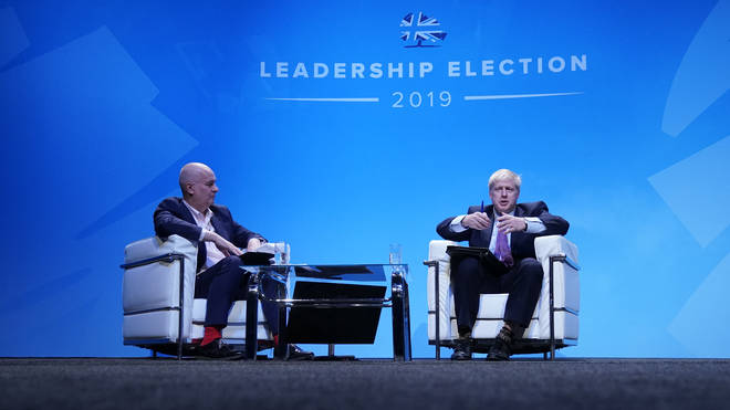 Tory leadership candidate Boris Johnson was interviewed by Iain Dale at the first hustings event in Birmingham