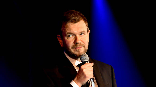 James O'Brien live on stage