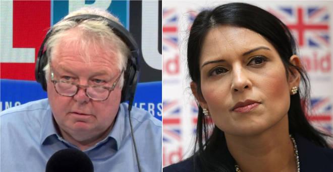 Nick Ferrari spoke to Priti Patel