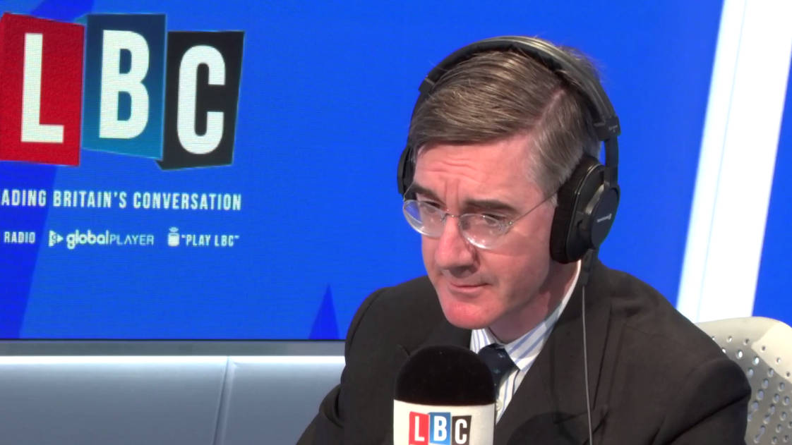 Jacob Rees-Mogg Schools Caller Who Claims He Changed His Mind On Second Referendum