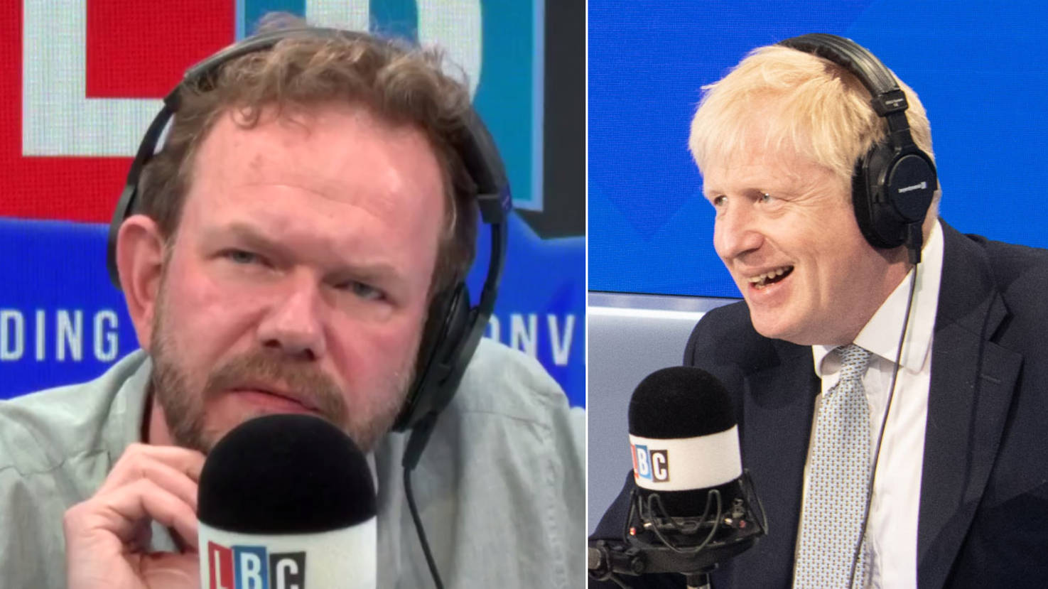 """Boris Johnson Voter Tells James O'Brien He's """"Lost For Words"""" By His """"Awful"""" LBC Phone-In"""