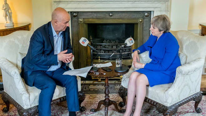 Iain Dale sat down with Theresa May at Downing Street on Wednesday.
