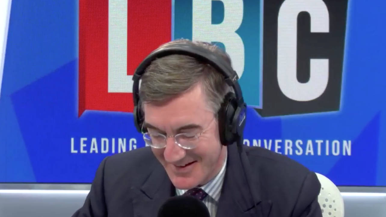 Watch The Moment This Caller Hangs Up On Jacob Rees-Mogg in A Brexit Row