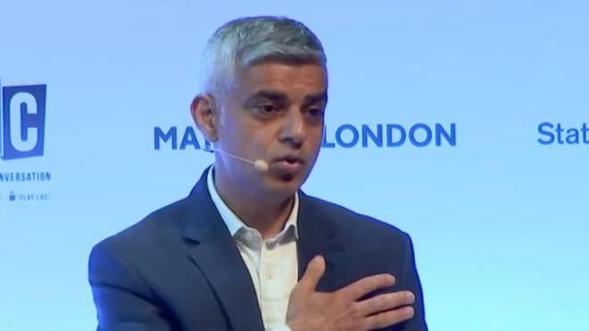 Sadiq Khan at the State of London debate