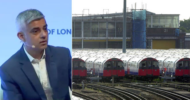 Sadiq Khan made a remarkable admission about the Tube