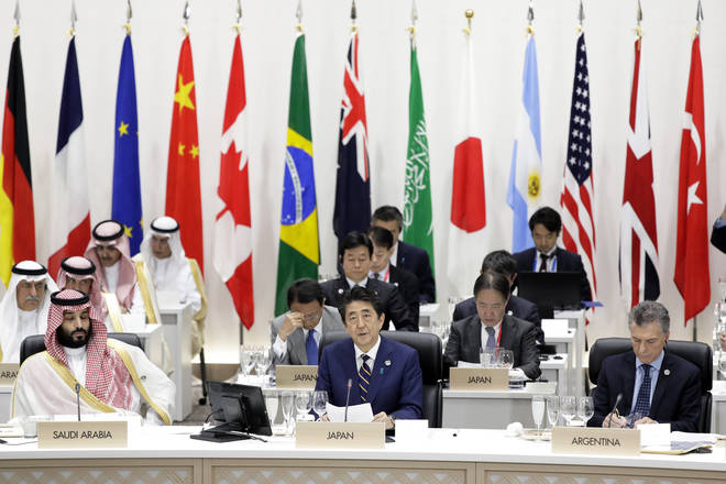 Day one of 2019's G20 summit in Japan