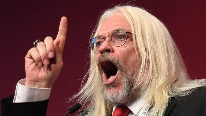 Mr McDonald is a prominent Labour activist