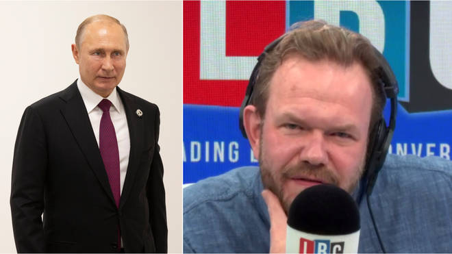 James O'Brien heard an alarming account of behind the scenes with Vladimir Putin