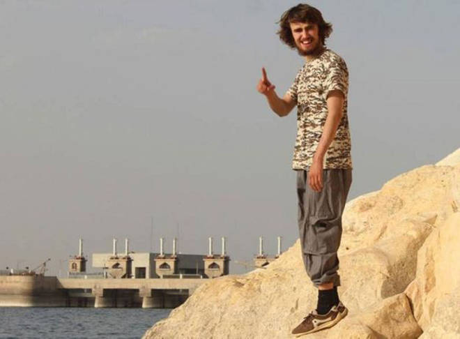 Jack Letts believed to be in Syria