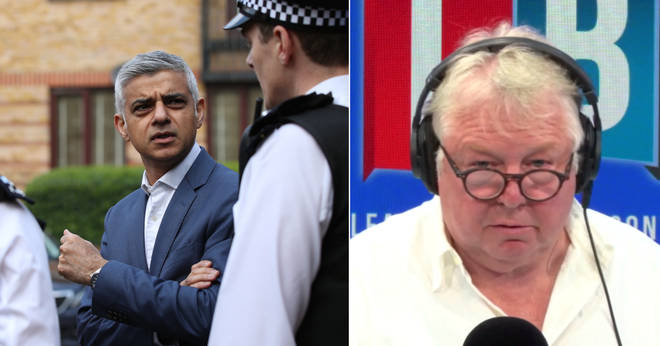 Nick Ferrari is not happy with Sadiq Khan's response to the knife crime crisis