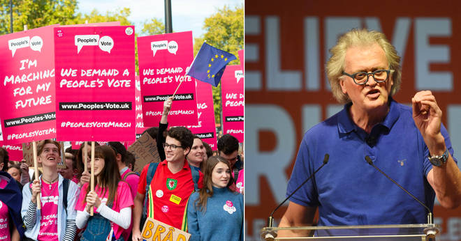 Tim Martin clashed with this People's Vote campaigner