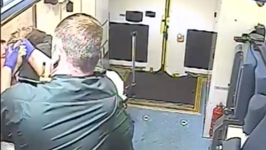 Shocking CCTV Footage Of Two Ambulance Workers Being Attacked