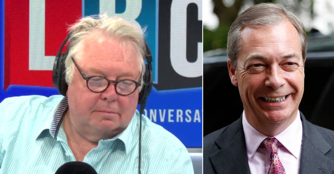 Nick Ferrari spoke to Nigel Farage on his first day back in the EU Parliament