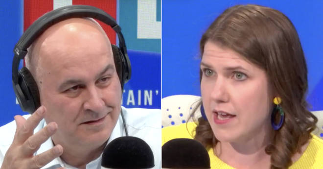 "Iain Dale challenged the Lib Dem leadership hopeful Jo Swinson over her ""hypocrisy"" between a second referendum on Brexit and repeating the Scottish Independence vote"