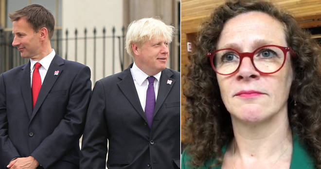 Sophie in 't Vel had a strong message for Hunt and Johnson