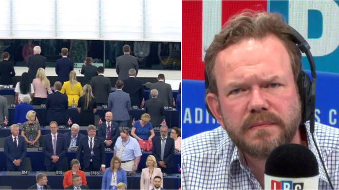 James O'Brien responds to the Brexit Party's stunt