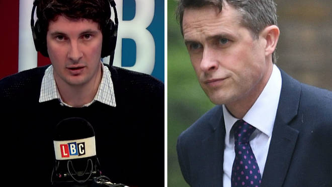Tom Swarbrick and Gavin Williamson
