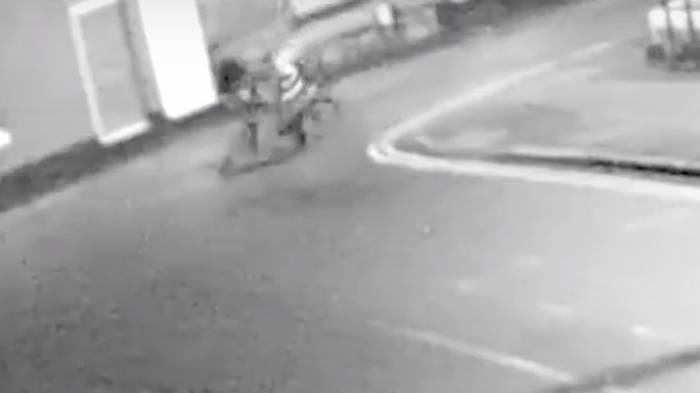 Shocking Footage Of Unprovoked Assault On Elderly Cyclist