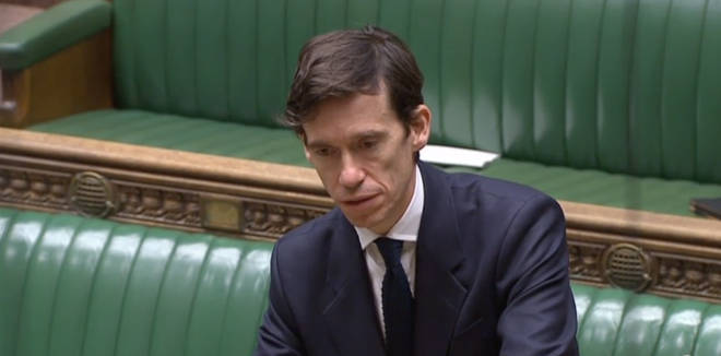 Rory Stewart addresses the House of Commons