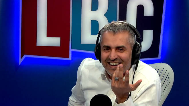 Maajid Nawaz couldn't get a word in edgeways.