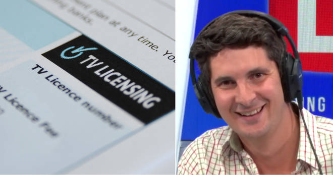 Tom Swarbrick's caller got very worked up about TV licences