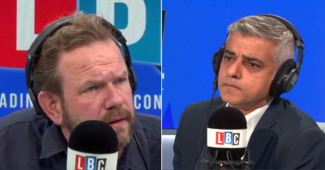 James O'Brien grilled Sadiq Khan about Labour's worst-ever polling