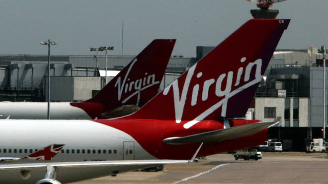 A Virgin Atlantic plane (file photo)