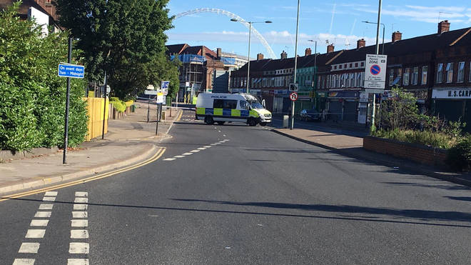 A man died in hospital after being shot in Wembley