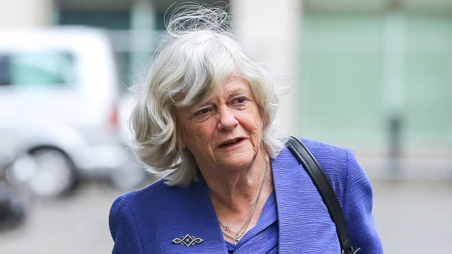 Brexit Party MEP Ann Widdecombe