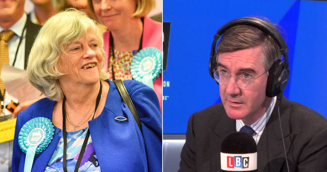 Jacob Rees-Mogg defended Ann Widdecombe over her slavery remarks