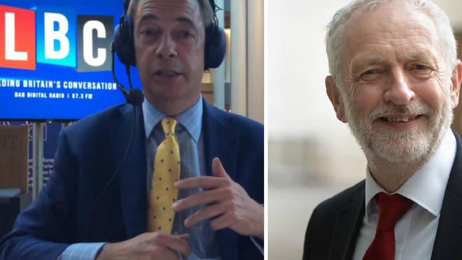 Nigel Farage - Jeremy Corbyn
