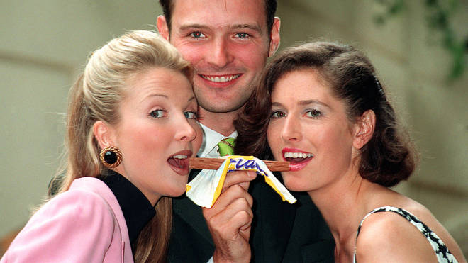 A promo for Cadbury's flake