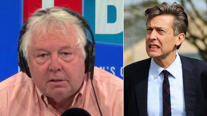 Nick Ferrari's interview with Ben Bradshaw got very fiery