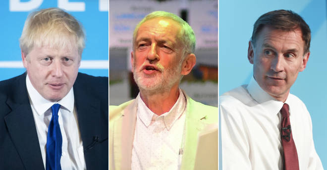 Jeremy Corbyn challenges Boris Johnson and Jeremy Hunt to a second referenmdum