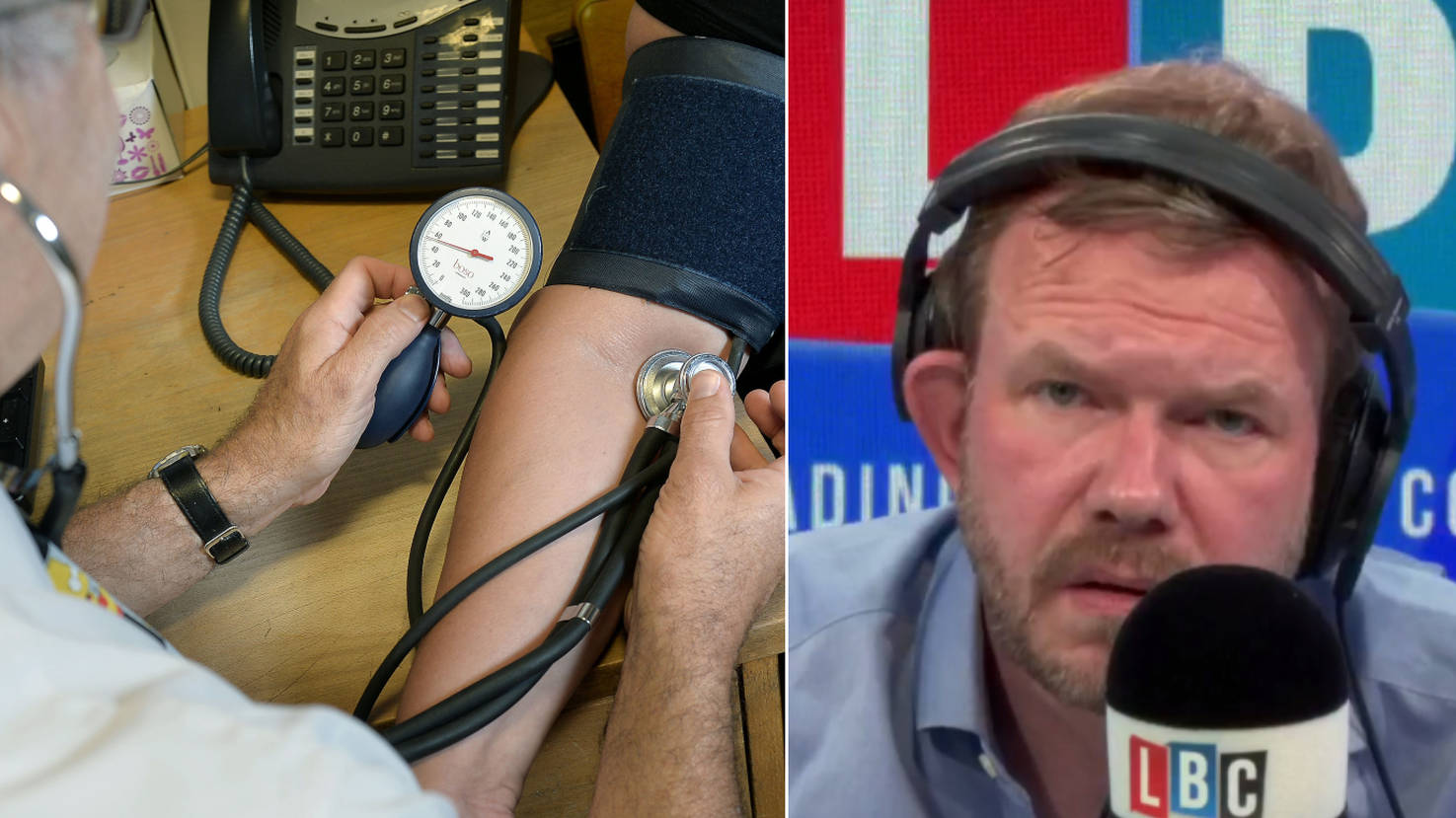 James O'Brien Left Speechless By NHS Tax Problem Which Has Sent Waiting Times Soaring