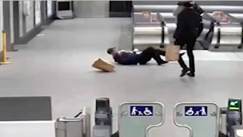 Violent Fare Dodger Convicted Of GBH After Shocking Tube Attack