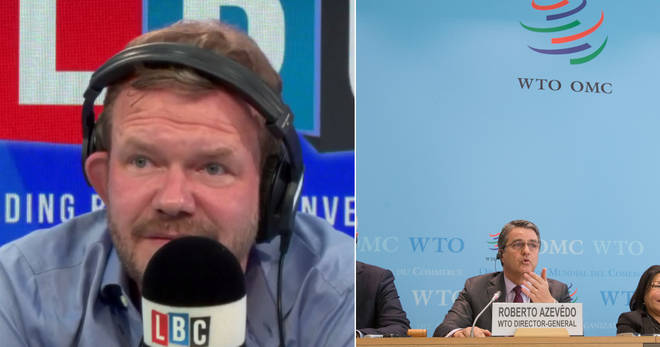 James O'Brien spoke to the journalist who asked the WTO what trading on WTO rules is like