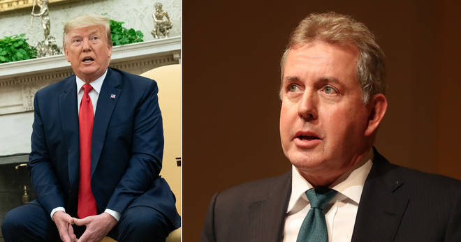 Kim Darroch resigned after his comments about Donald Trump were leaked
