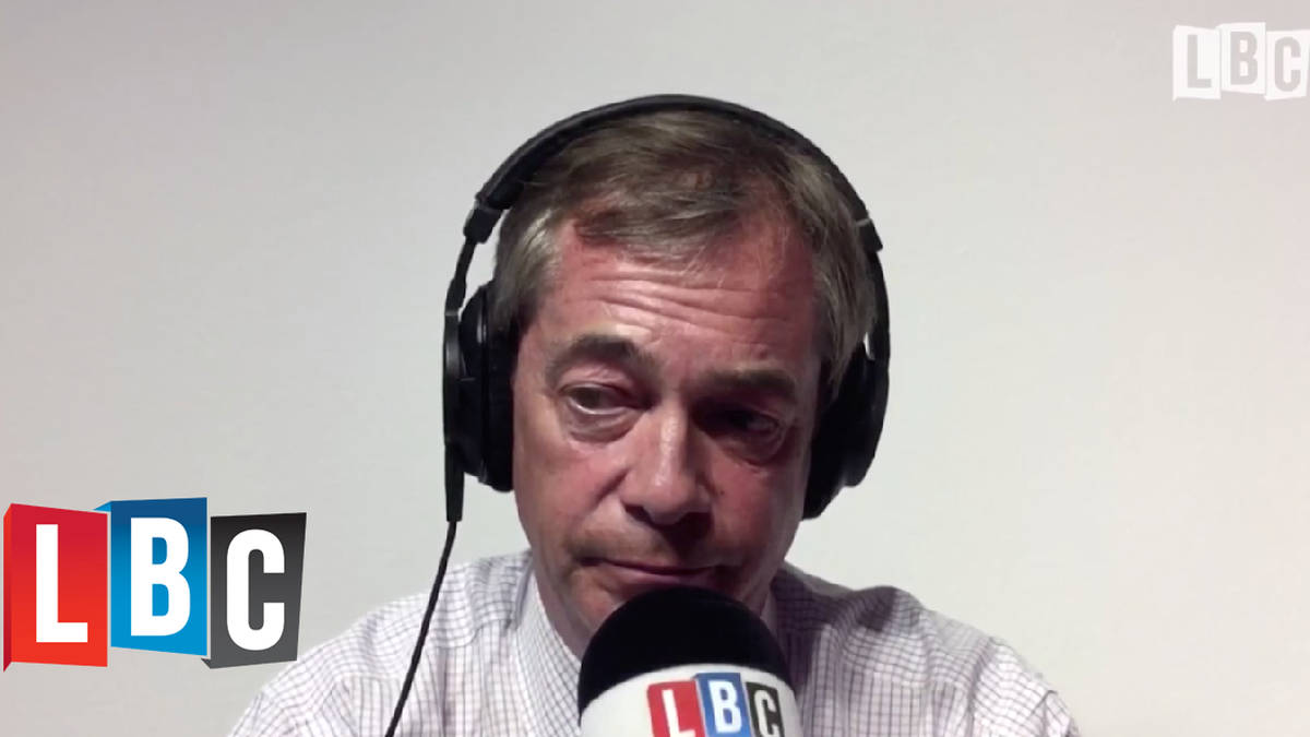 "Nigel Farage Tells LBC He ""Killed The British National Party"""