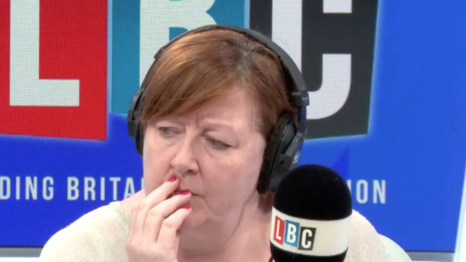 Caller Rings In To Defend Labour Then Says Something Anti-Semitic