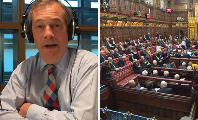 Nigel Farage House of Lords