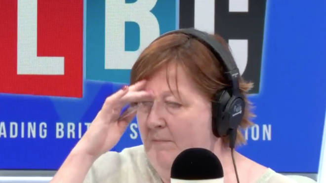 Shelagh looked exasperated at times during the call